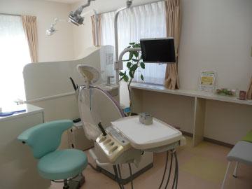 やまむらデンタルクリニックの診察台